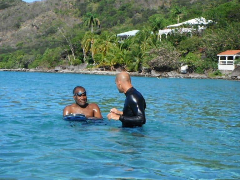 Combattre l'aquaphobie chez CARAÏBES NATATION